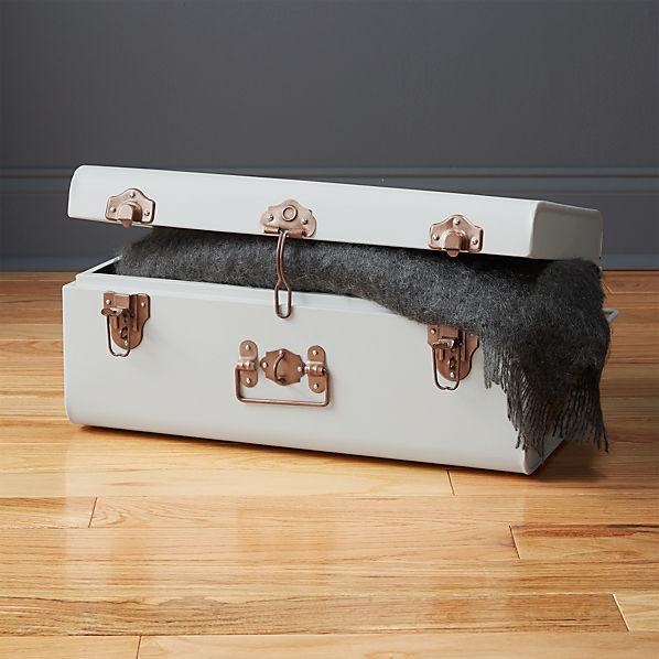 SuitcaseMatteWhiteSmlSHF16