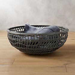 sway grey basket