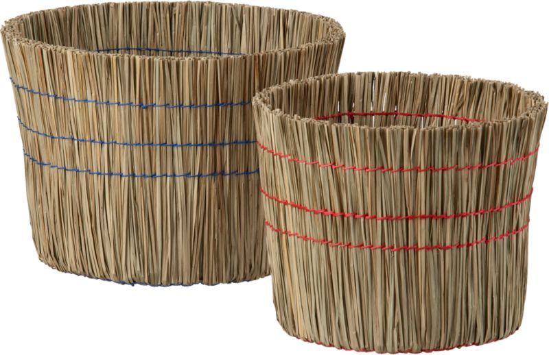 2-piece sweep basket set