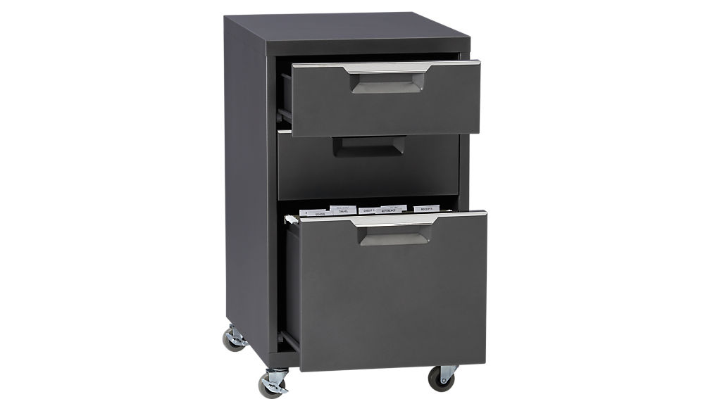 TPS carbon 3-drawer filing cabinet