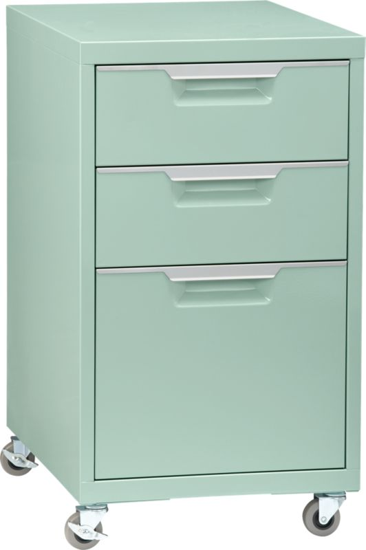TPS mint 3-drawer filing