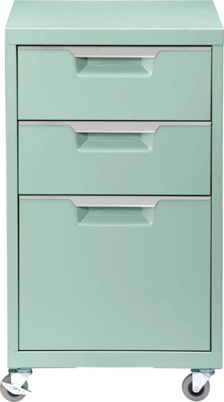 Creative Office Designs Metallic Charcoalcolored 2drawer Steel File Cabinet.