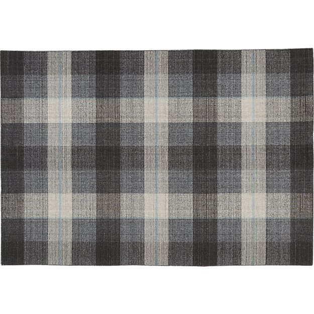 tailor plaid rug 6'x9'
