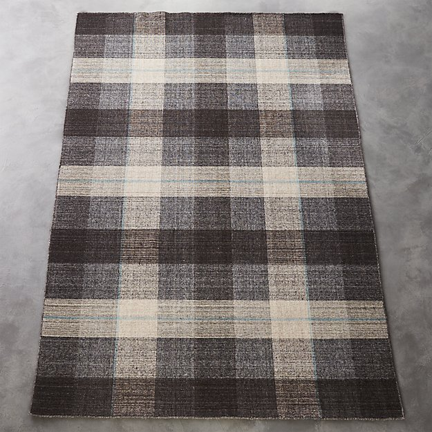 tailor plaid rug
