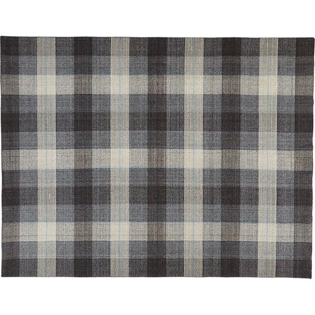 tailor plaid rug 9'x12'