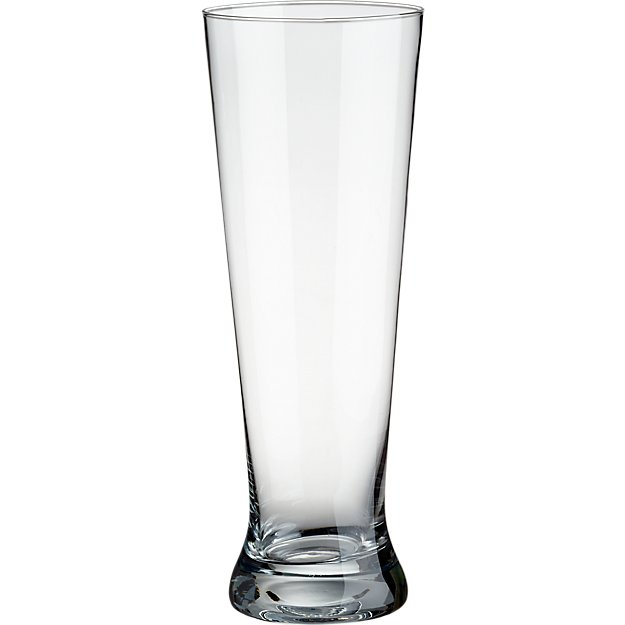 tall beer glass