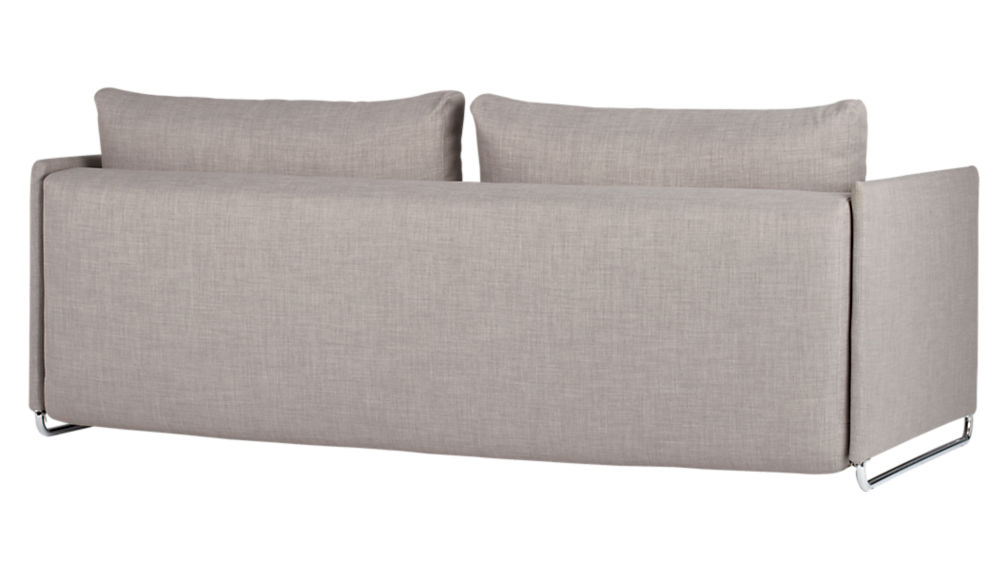 tandom grey sleeper sofa