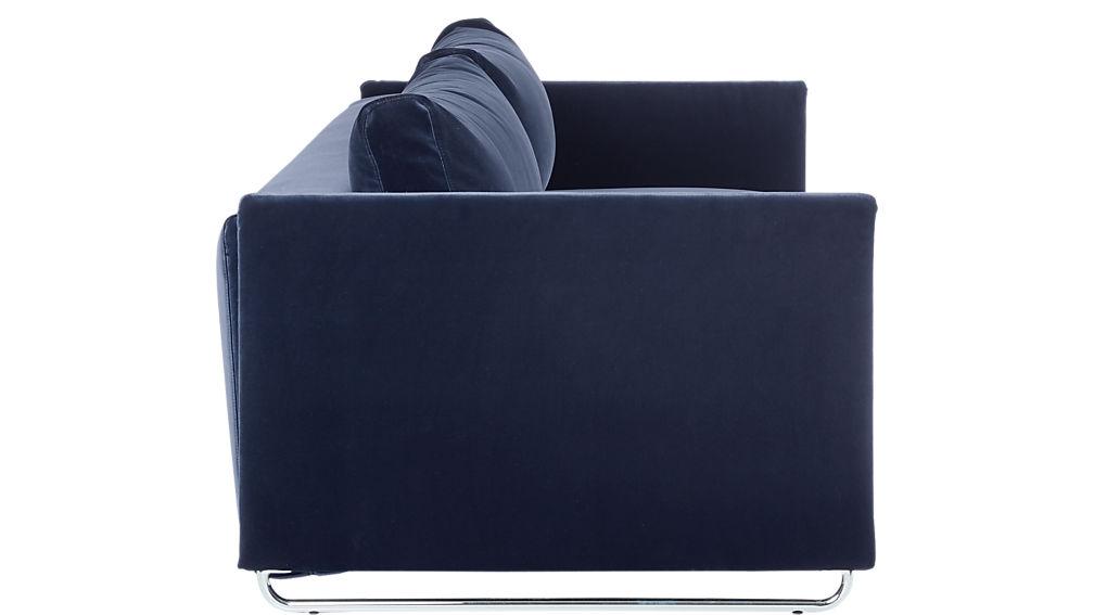 tandom navy sleeper sofa