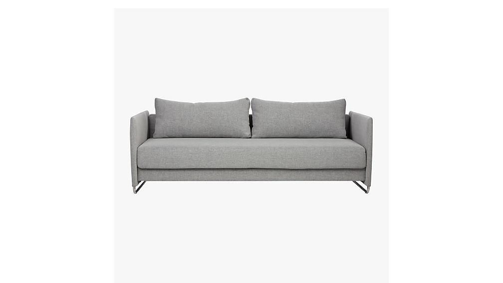 tandom microgrid grey sofa