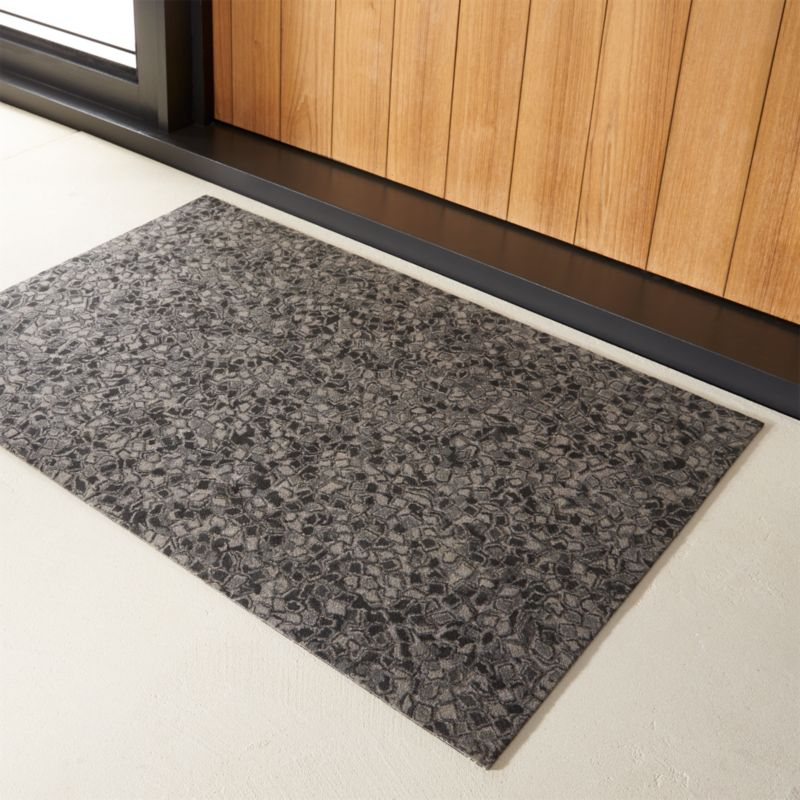 Image gallery modern doormat for Designer front door mats
