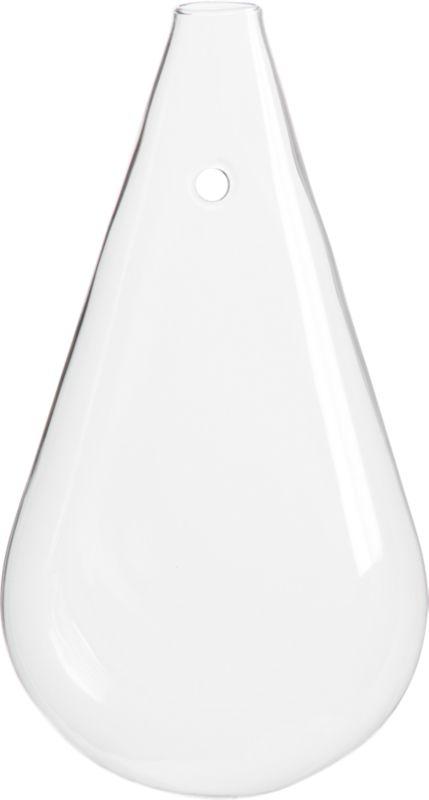 wall mounted teardrop vase