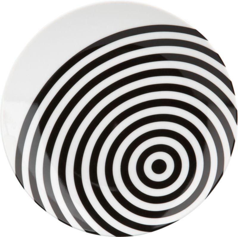 techno swirl  plate
