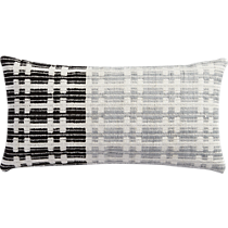 "telegraph 23""x11"" pillow with down-alternative insert"