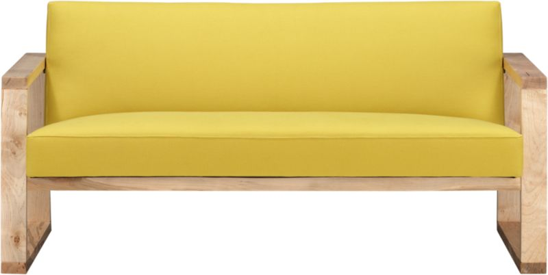 tetra lemongrass loveseat