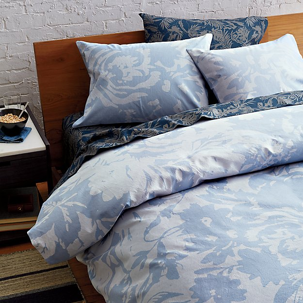 The Hill-Side giant floral print bed linens