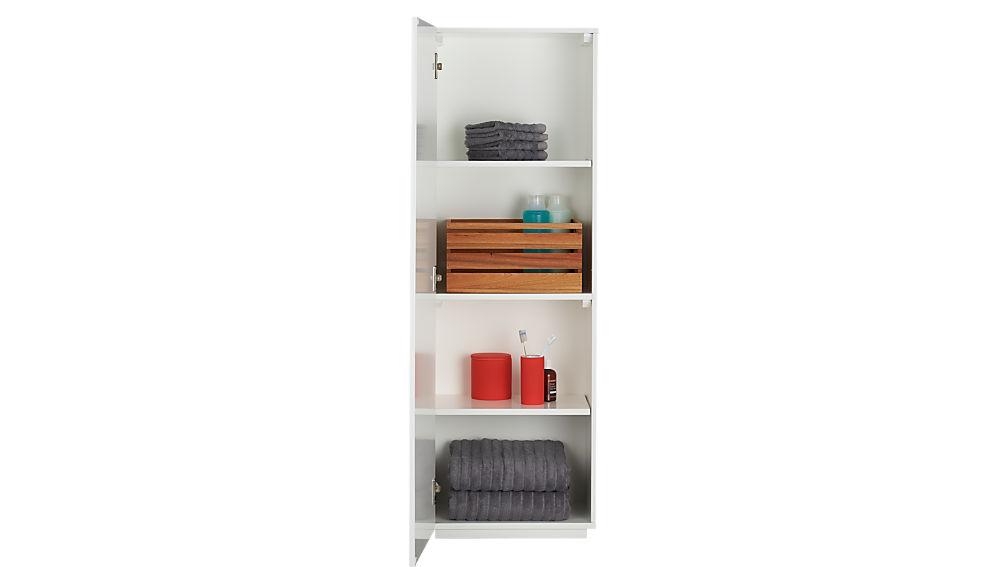 the wall bath cabinet