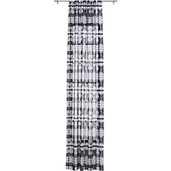 Tie Dye Pocket Curtain Panel 48 Quot X120 Quot Cb2