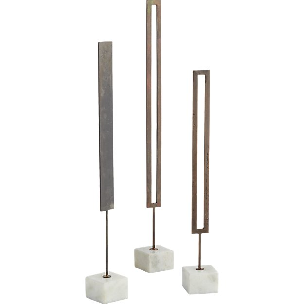 3-piece tine object set