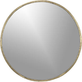 tork brass dripping mirror