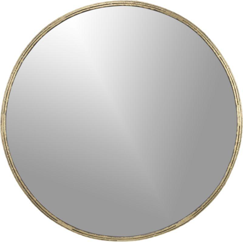 """tork brass 30"""" dripping mirror"""