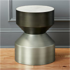 silo tall side table.