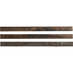 track brass wall strips shopping in CB2 wall décor