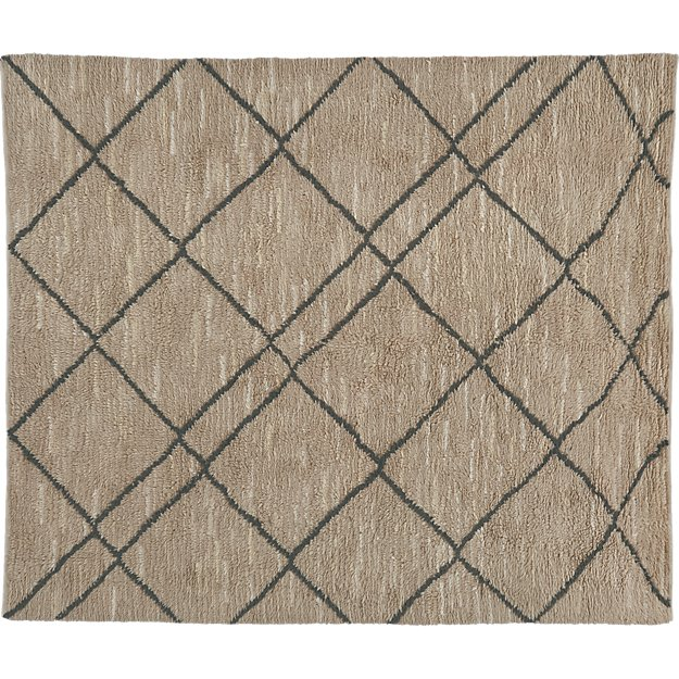 trap neutral rug 8'x10'