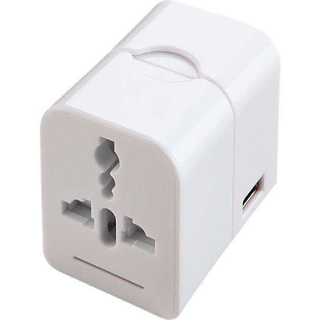 Travel Adapter Block