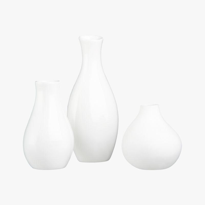 3-piece trio vase set