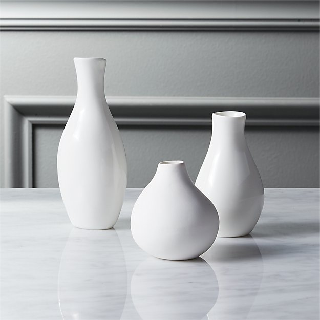 3 Piece Trio Vase Set Cb2