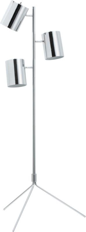 tripel floor lamp