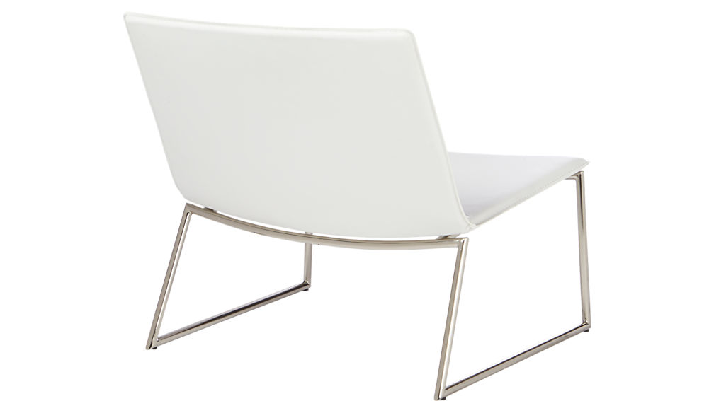 Triumph Chalk Lounge Chair Cb2