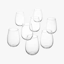 true stemless wine glasses set of eight