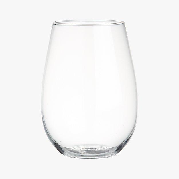 true stemless wine glass
