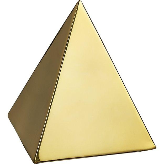 tut gold pyramid object