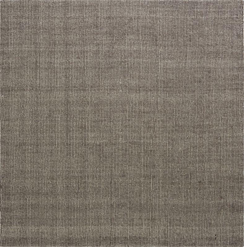 grey/ivory tweed rug
