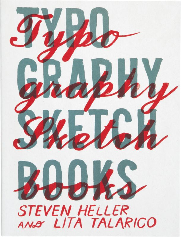 """typography sketchbook"""