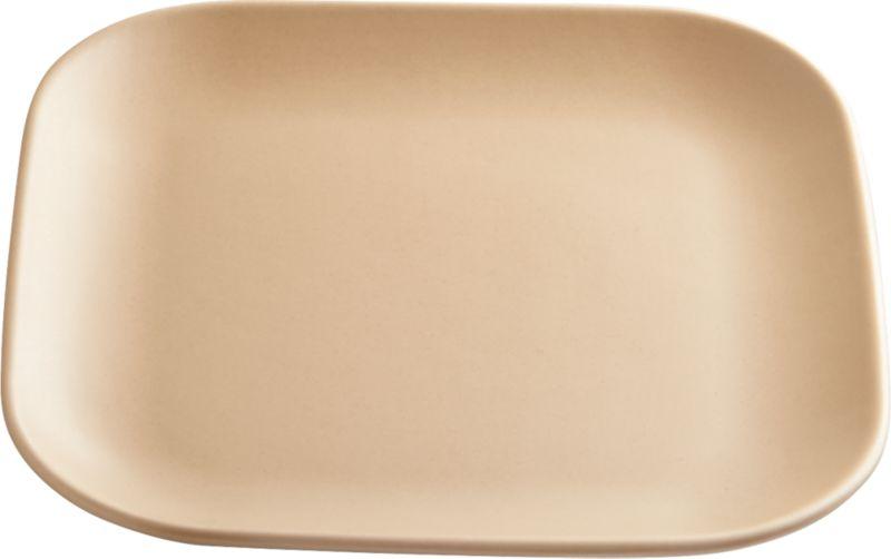 undertone tan salad plate
