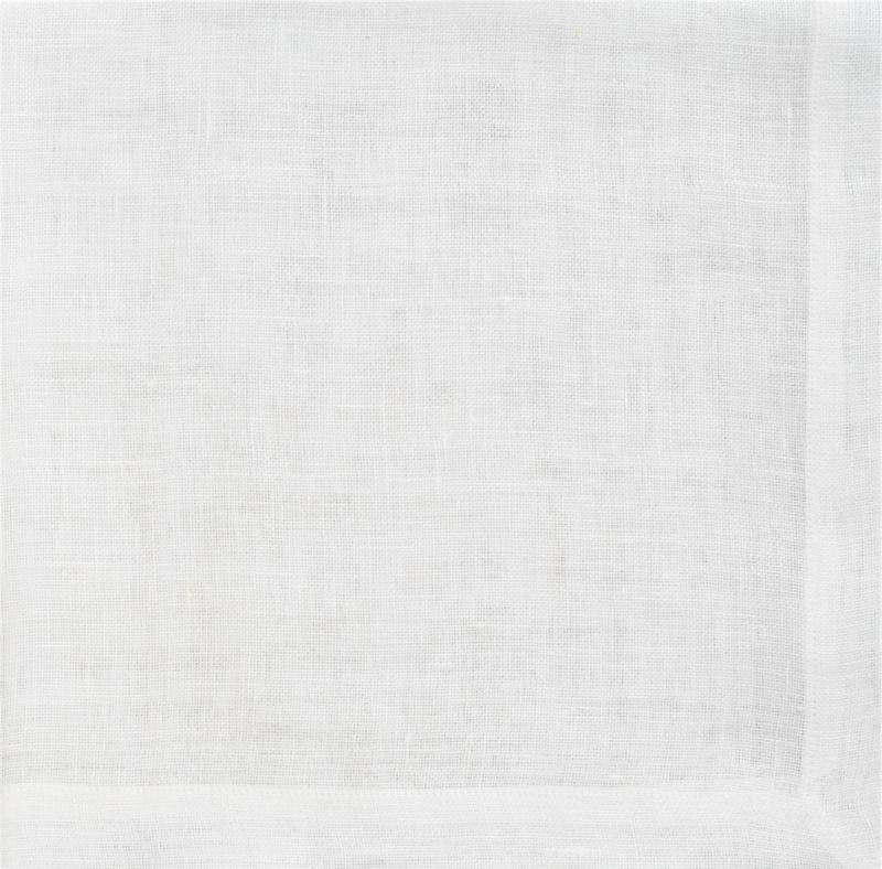 uno white linen napkin