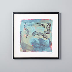 untitled abstract print