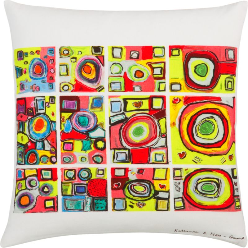 "untitled 20"" pillow"
