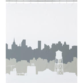 urban dawn shower curtain
