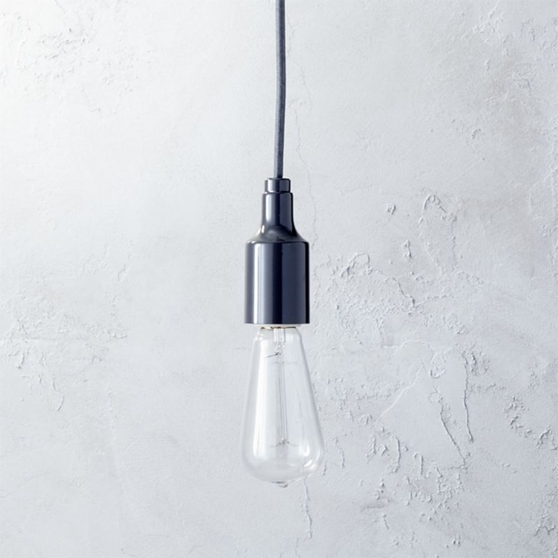 utility graphite pendant light with bulb cb2 swing arm brass wall