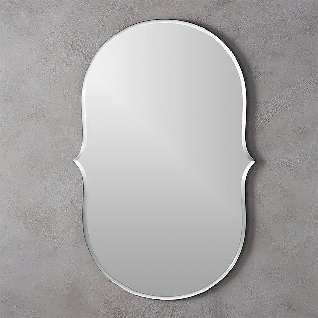 """vanity beveled 35.75""""x24"""" mirror"""