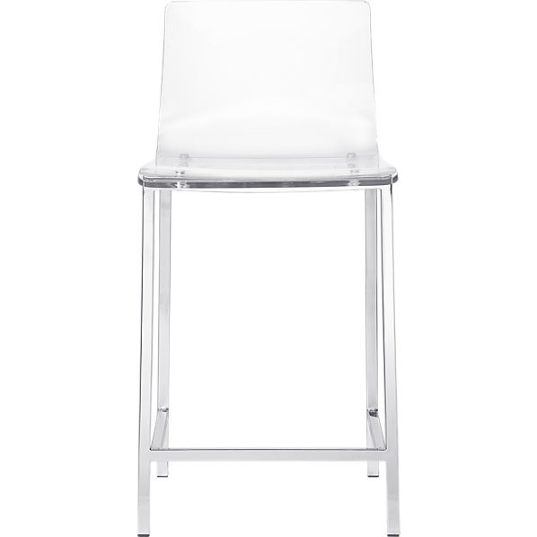 Vapor 24 Acrylic Counter Stool Cb2