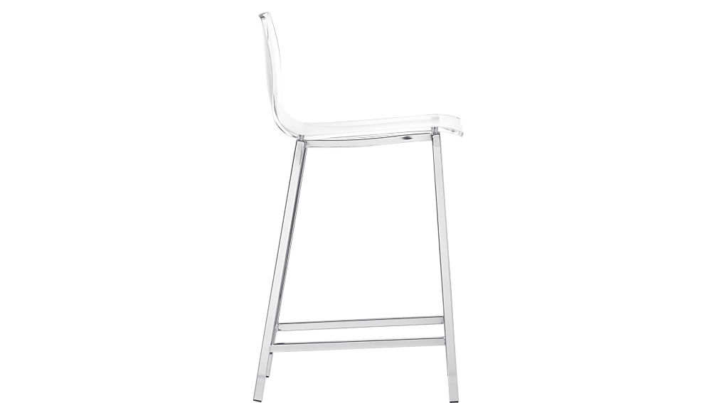 "vapor 30"" acrylic bar stool"