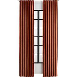 velvet amber curtain panel