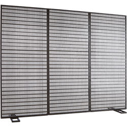 vent fireplace screen
