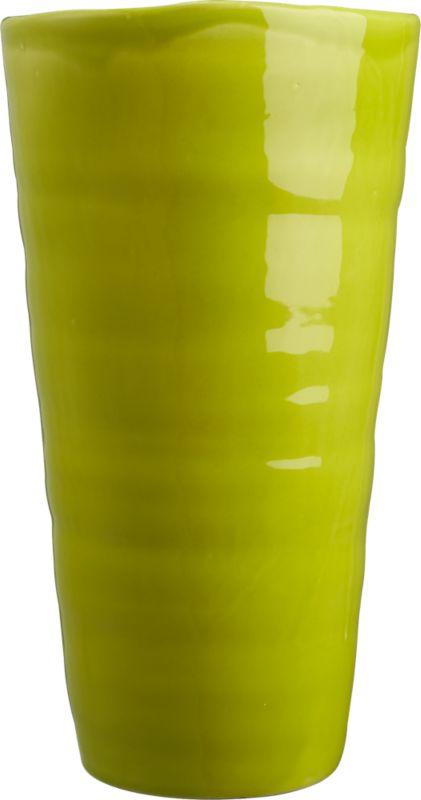 verde terracotta vase
