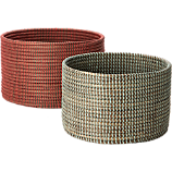 vertical stripe baskets